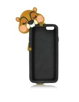 Черный Силиконовый Футляр для iPhone 6 Dsquared2 W16IT4001 337 M037