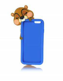 Синий Силиконовый Футляр для iPhone 6 Dsquared2 S17IT4001 - 337 3085 BLUE