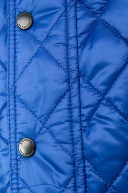 Стеганая куртка Burberry Kids 125345988