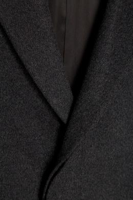 Однобортное пальто из шерсти и кашемира Prada 4062910