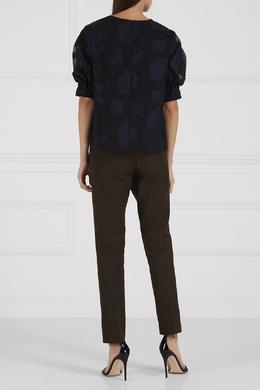 Классические брюки цвета хаки Joseph 92464809