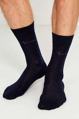 Темно-синие носки из хлопка Billionaire 166871950