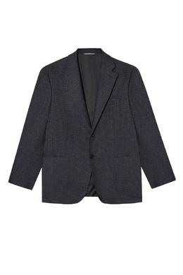 Серый пиджак из шерсти и кашемира Canali 179366660