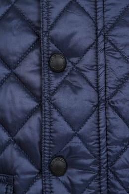 Синяя стеганая куртка Burberry Kids 125379353