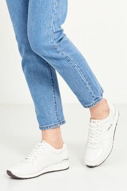 Белые кроссовки из кожи MICHAEL Michael Kors 98481866