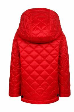 Красная стеганая куртка Burberry Kids 125379348