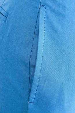 Синие детские брюки Burberry Kids 125379440