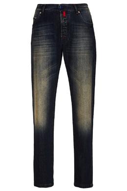 Потертые джинсы Kiton 167187181