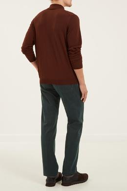 Зеленые джинсы со стрелками Kiton 167192748