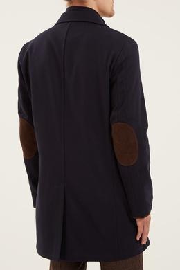 Кашемировое пальто с двойным воротником Kiton 167192765