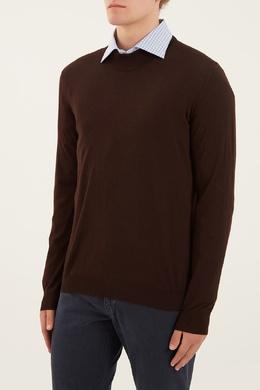 Черный пуловер с кашемиром Kiton 167192709