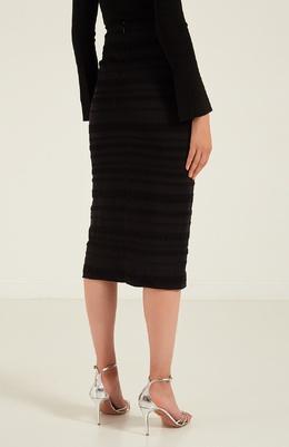 Черная юбка-миди Proenza Schouler 18290306