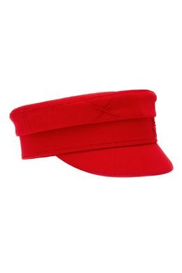 Красный хлопковый картуз Baker Boy Ruslan Baginskiy 224498729
