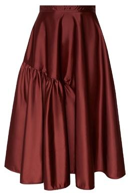 Бордовая юбка No. 21 3599647