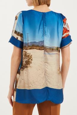 Блузка с принтом No. 21 3599723