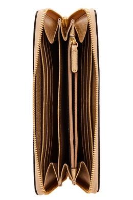Золотистый кошелек с логотипом Money Pieces MICHAEL Michael Kors 98499700