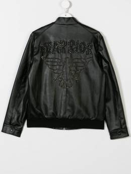 John Richmond Junior - TEEN Warrior embellished bomber jacket 98953GB9396959500000