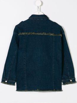 Andorine - embellished denim shirt 9898A936695660000000