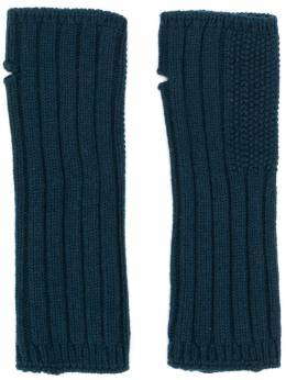 Holland & Holland Cashmere Knitted Mittens LU5812L00002