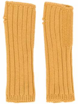 Holland & Holland - cashmere knited mittens 890L6666093099360000