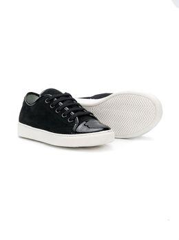 Lanvin Enfant кроссовки на шнуровке 58477V5T