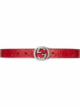 Gucci Kids Children's Gucci Signature belt 258395CWC0N