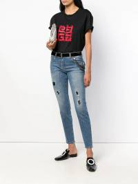 Boutique Moschino - distressed cropped jeans 65580093936563000000