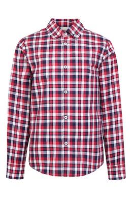 Рубашка в клетку Gucci Kids 1256102334