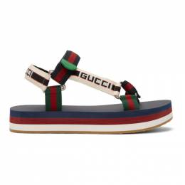Gucci Multicolor Bedlam Sandals 182451M23400113GB
