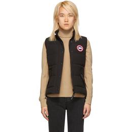 Canada Goose Black Freestyle Down Vest 182014F06103201GB