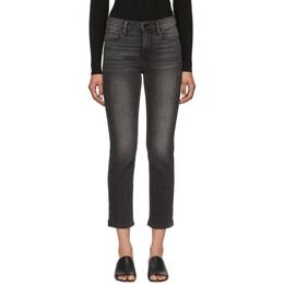 Frame Grey Le Nouveau Straight Jeans 191455F06902803GB