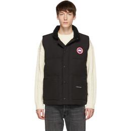 Canada Goose Black Down Freestyle Crew Vest 182014M17800901GB