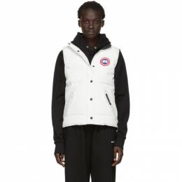 Canada Goose White Down Freestyle Vest 182014F06103301GB