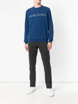Jacob Cohen logo embroidered sweatshirt J4051R01232W2