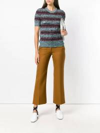 Victoria Beckham - flared cropped tailored trousers RP0568BPAW9893005958