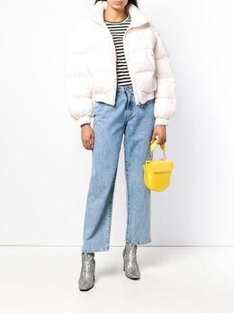 Chiara Ferragni - embroidered logo puffer jacket 66093950066000000000