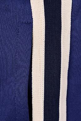 Синие брюки с лампасами Gucci Kids 1256102932