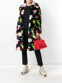 Kenzo - double breasted faux fur coat 0MA6655D993063965000