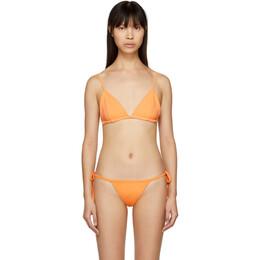 Myraswim Orange Jhane Bikini Top 191056F10501603GB