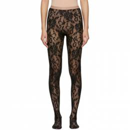 Gucci Black Lace Tights 554856 3G043