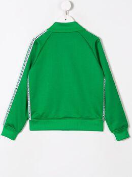 Msgm Kids - спортивная куртка с логотипом 53993568595000000000