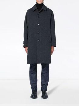 Mackintosh Charcoal Wool & Cashmere Overcoat GM-107F MO2886