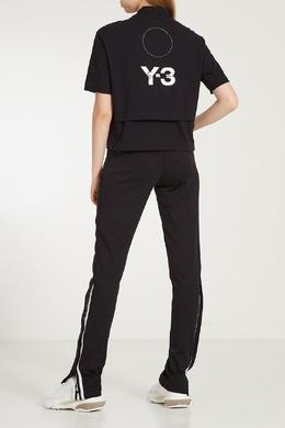 Зауженные черные брюки Y-3 1044106365