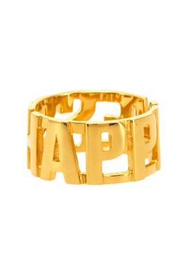 Позолоченное кольцо с надписью Insight 2800106266