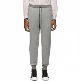 3.1 Phillip Lim Grey Dropped-Rise Tapered Lounge Pants 191283M19000404GB