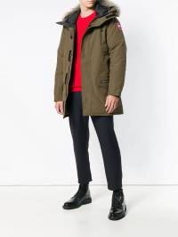 Canada Goose - fur-trimmed hooded parka coat 660M9303635900000000