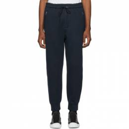 3.1 Phillip Lim Navy Tapered Classic Lounge Pants 191283M19100604GB