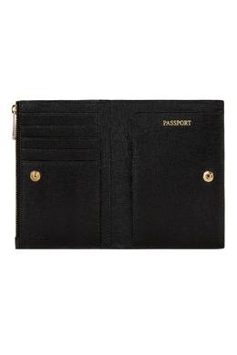 Черная обложка для паспорта Linda Furla 1962106883