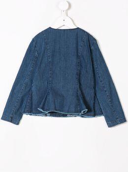 Il Gufo - джинсовая куртка с баской GR906J66639359033800