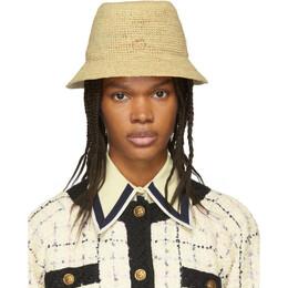 Gucci Beige GG Straw Hat 191451F01700601GB